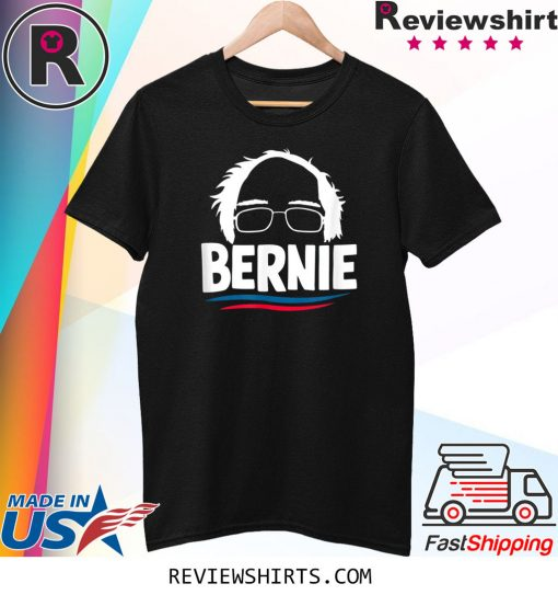 Bernie Sanders 2020 Bernie Hair Feel The Bern For President Shirt