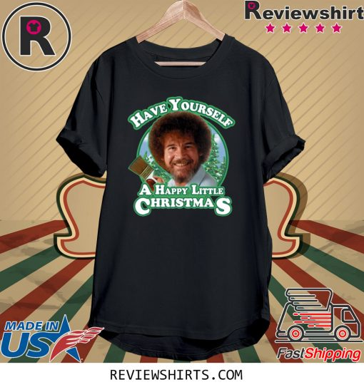 Is Ross Open On Christmas 2020 Official Bob Ross Have Yourself a Happy Little Christmas 2020