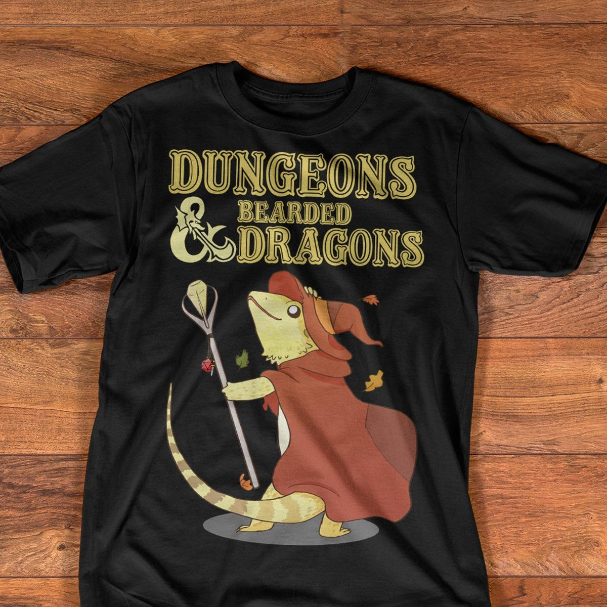 Dungeons Bearded And Dragons Shirt