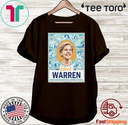Elizabeth Warren End Washington Corruption Shirt