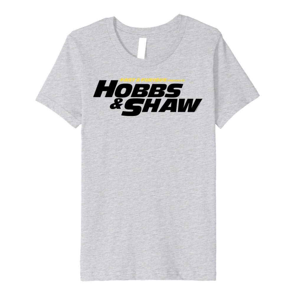 Fast & Furious Hobbs & Shaw Yellow And Black Shirt