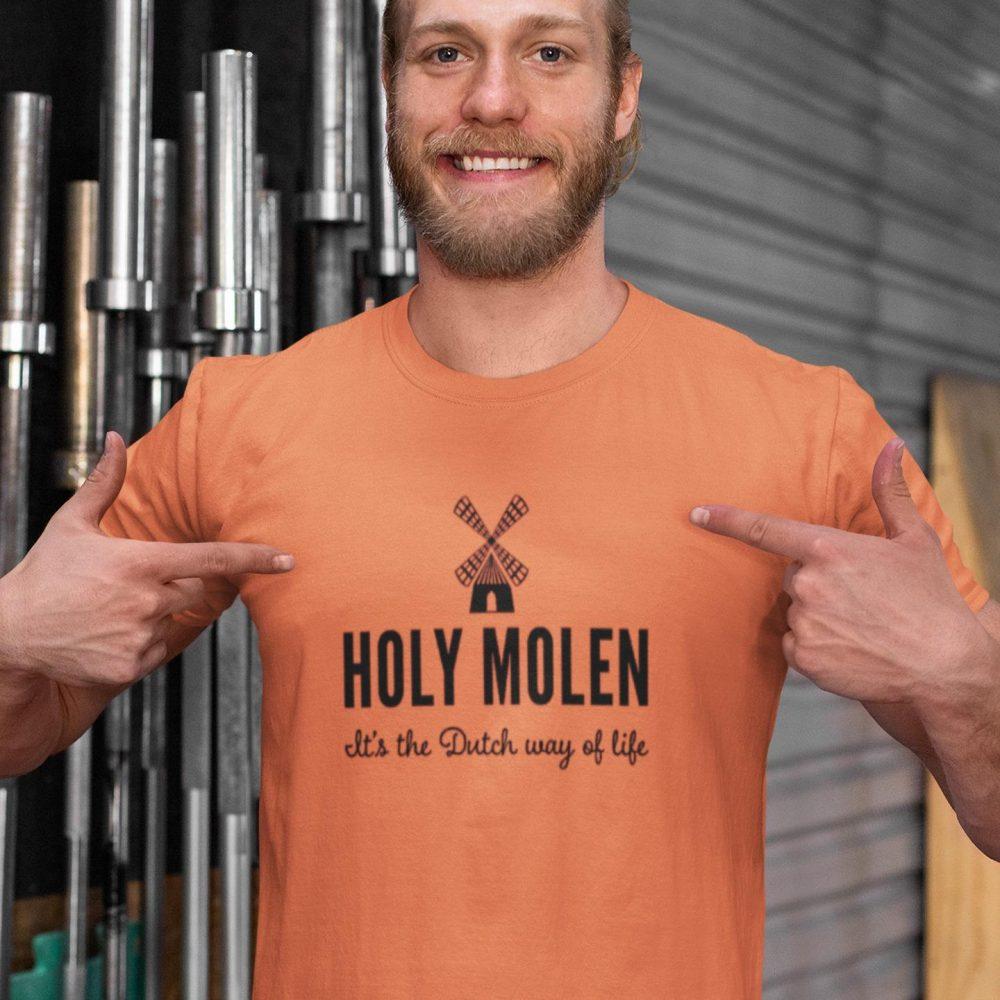 HOLY MOLEN IT'S THE DUTCH WAY OF LIFE SHIRT