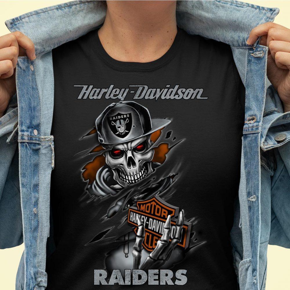 Harley Davidson Raiders Shirt