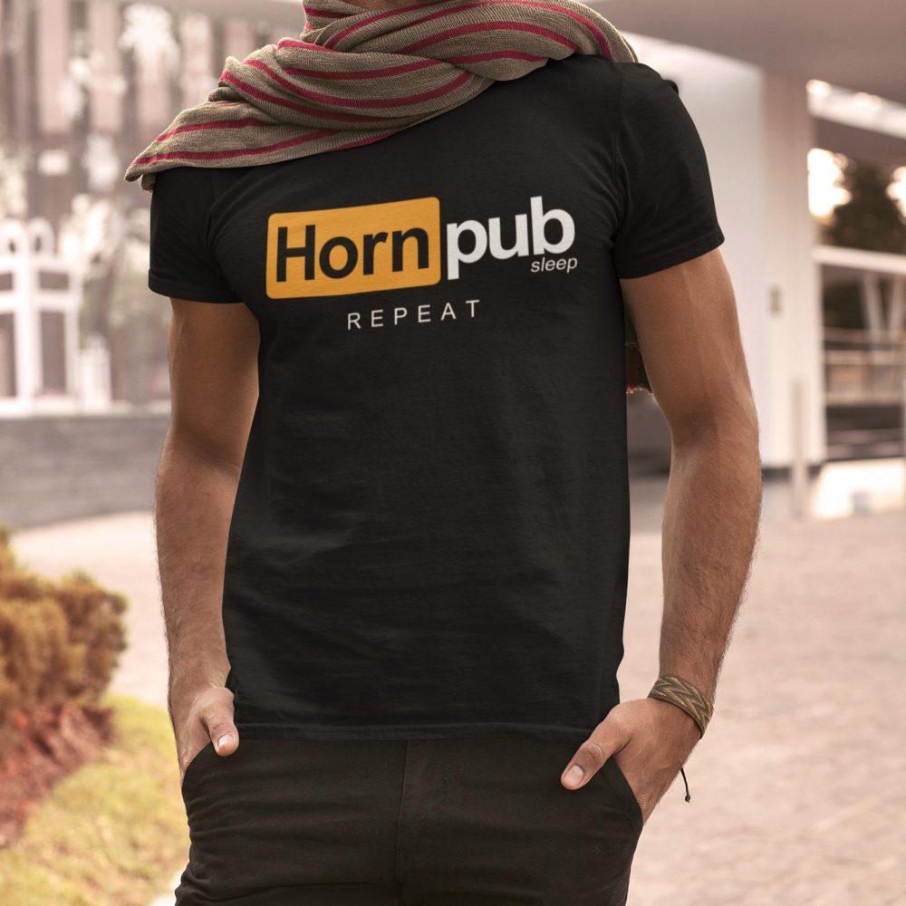 Hornpub Sleep Repeat Shirt
