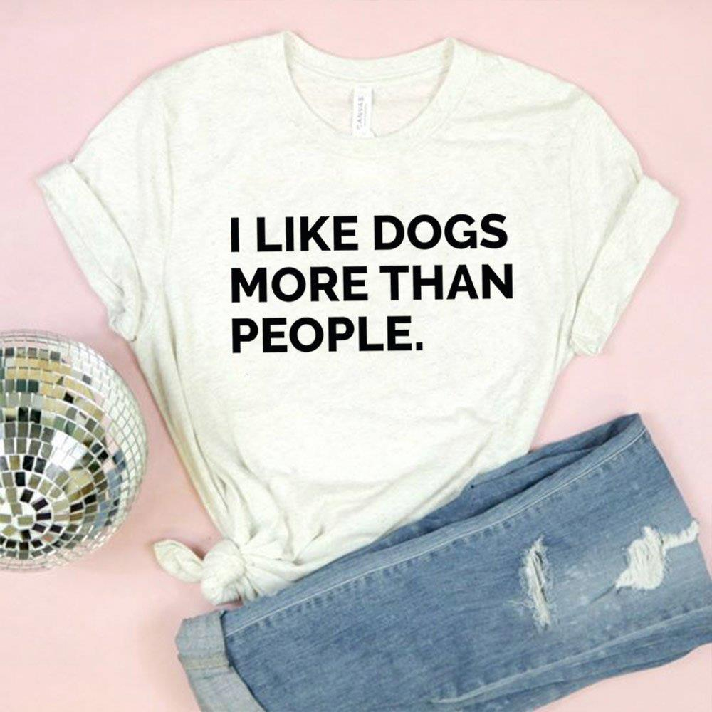 I Like Dogs More Than People Shirt