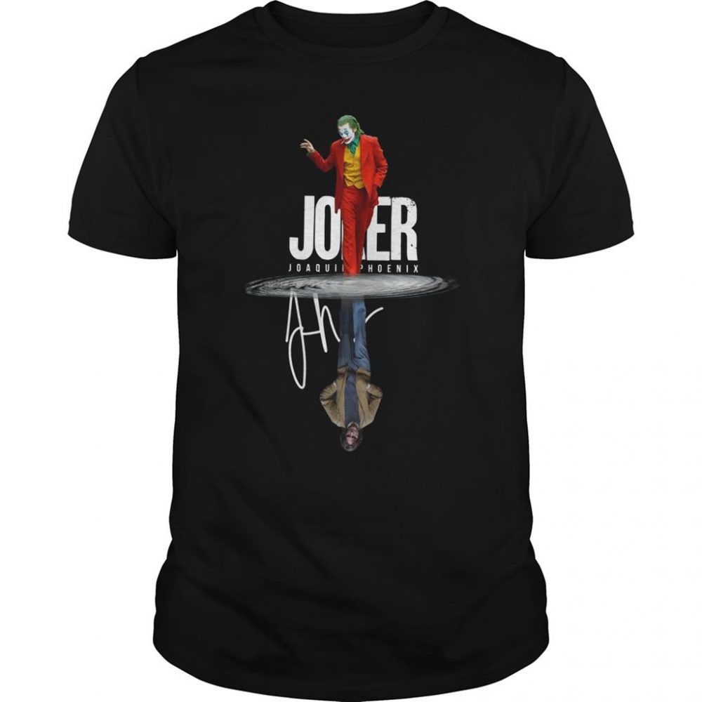 Joaquin Phoenix Joker Signature Water Reflection Shirt