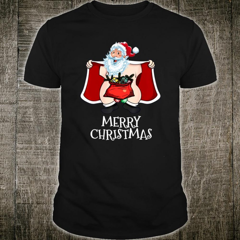 Santa Claus Wish You a Merry Christmas Shirt