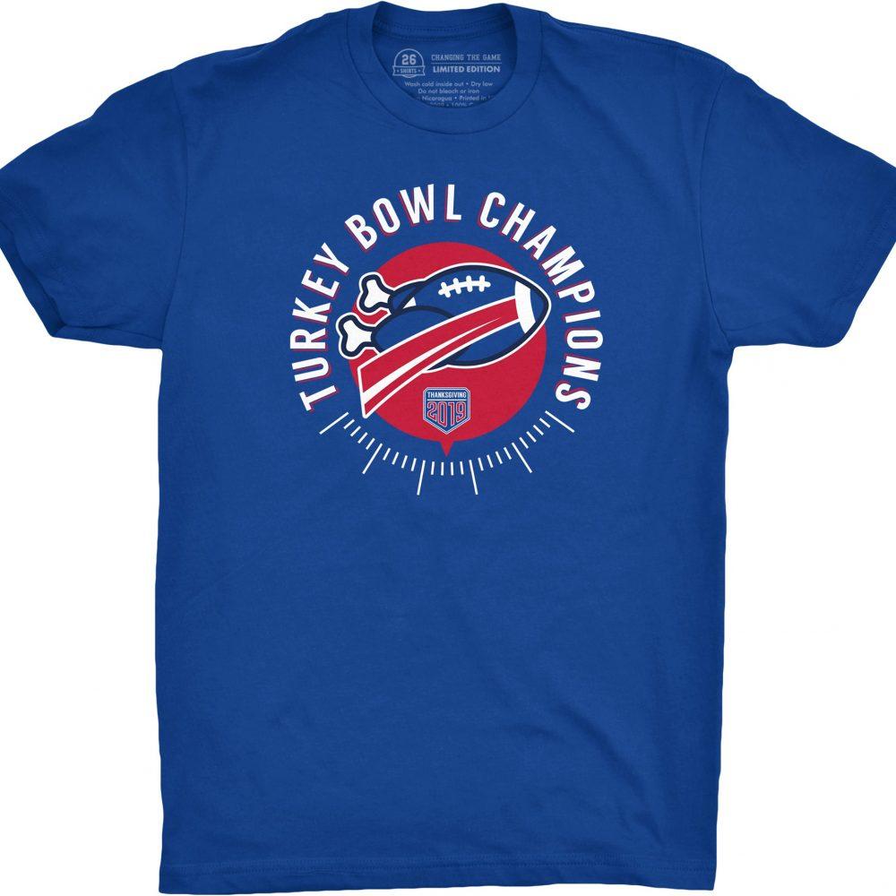 Turkey Bowl Champions Shirt